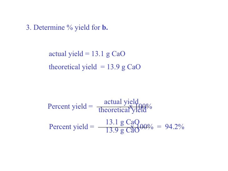 stoichiometry percent yield worksheet Termolak – Percent Yield Worksheet Answers
