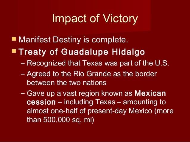 The impact of the treaty of