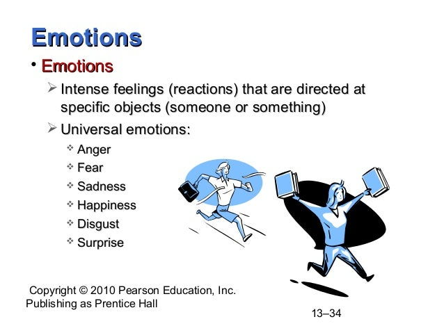 What term is used for intense feelings that are directed at someone or something