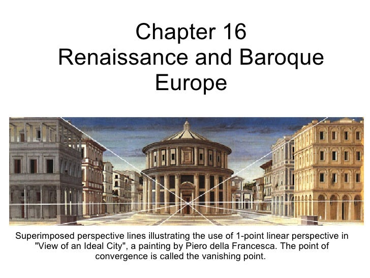 renaissance and baroque