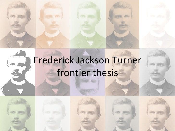 Essay by frederick jackson turner