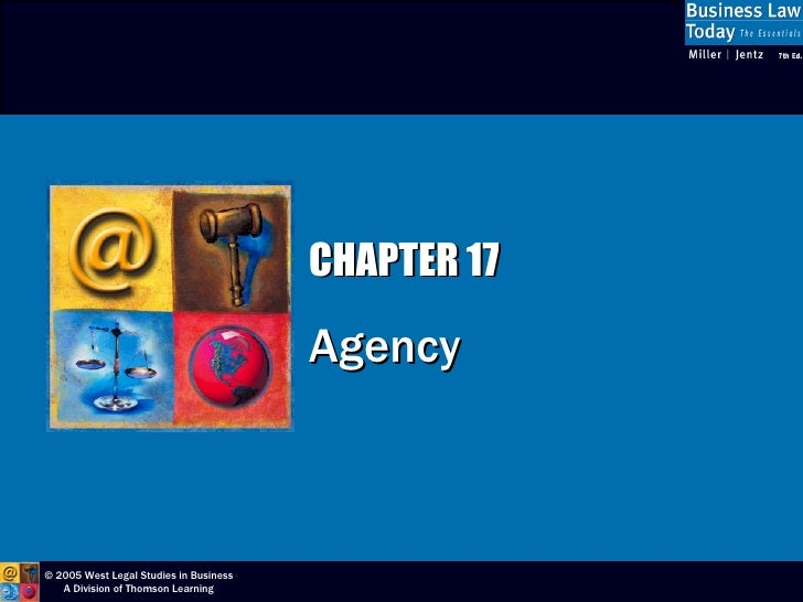 CHAPTER 17 Agency