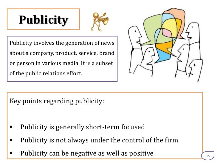 Publicity Vs Advertising