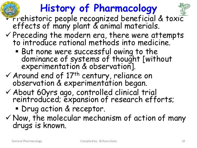 Chapter 1 general pharmacology