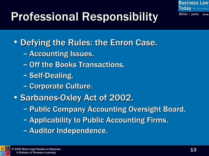 effects of sarbanes oxley act on accountants The last discussion will involve the impact of sox and the public company  accounting oversight board on financial reporting and the changes that have  taken.
