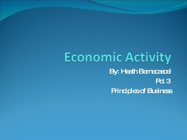 By: Heath Barnacascel Pd. 3  Principles of Business