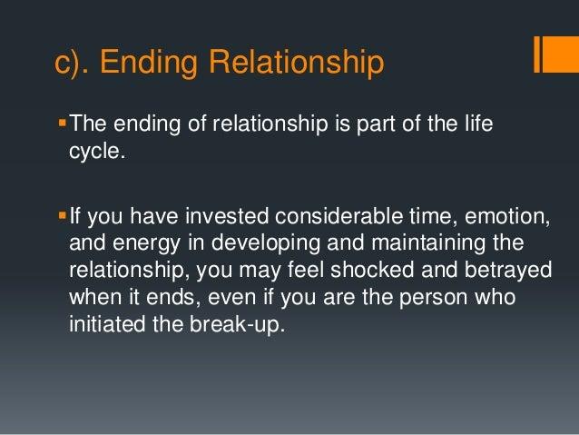anti trust ending relationship