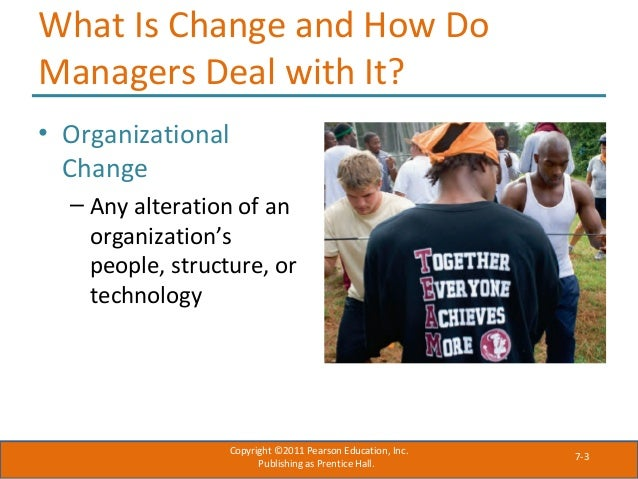 technology change managing change and resistance Dealing with resistance to change  their use of technology, structure or culture or any combination of these  people fear that management does not have their.
