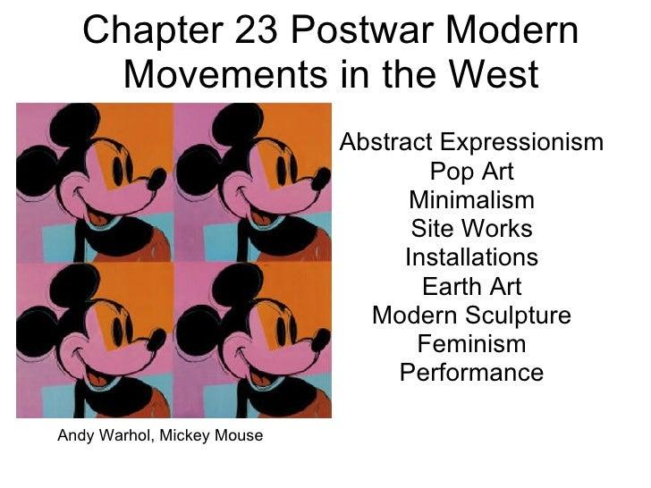Kcc art 211 ch 23 postwar modern movements in the west for Minimal art slideshare