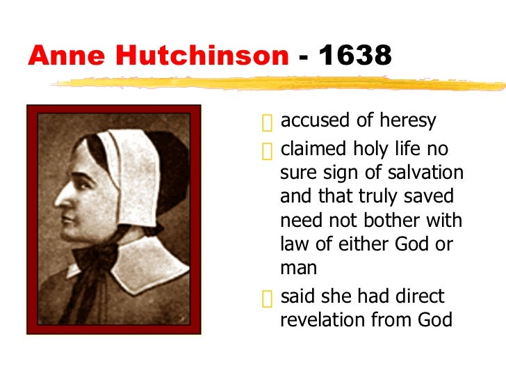 essay on anne hutchinson trial This lesson discusses anne hutchinson and her famous trial in massachusetts learn more about the religious beliefs that led to hutchinson's.