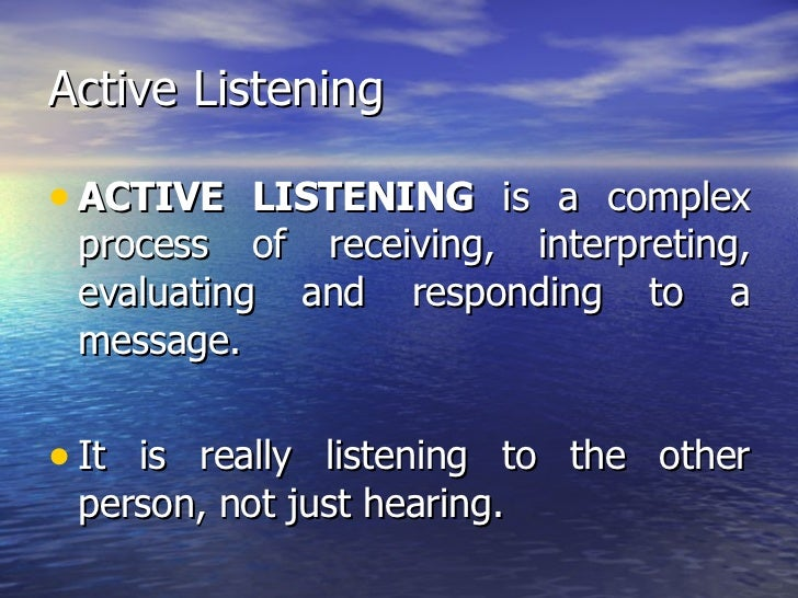 strategies for active critical and empathic listening Active listening is a communication technique that is used in counseling, training,  empathic listening skills how to listen so others feel heard,.