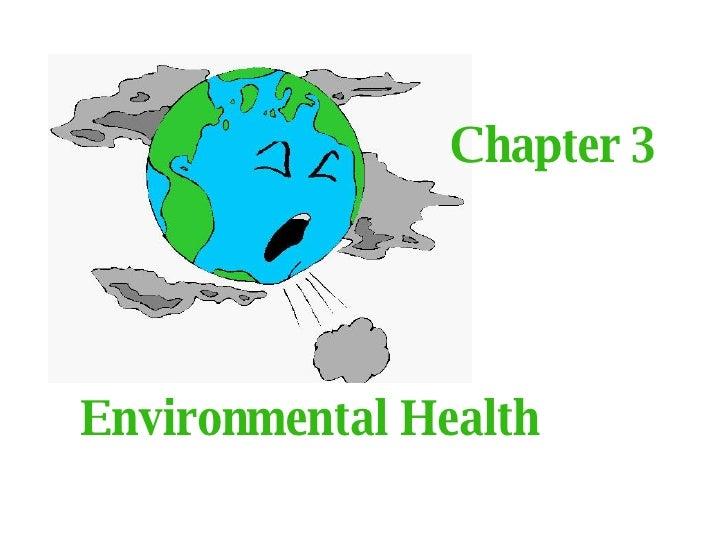 Chapter 3 Environmental Health