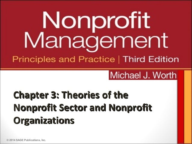 © 2014 SAGE Publications, Inc.Chapter 3: Theories of theChapter 3: Theories of theNonprofit Sector and NonprofitNonprofit ...