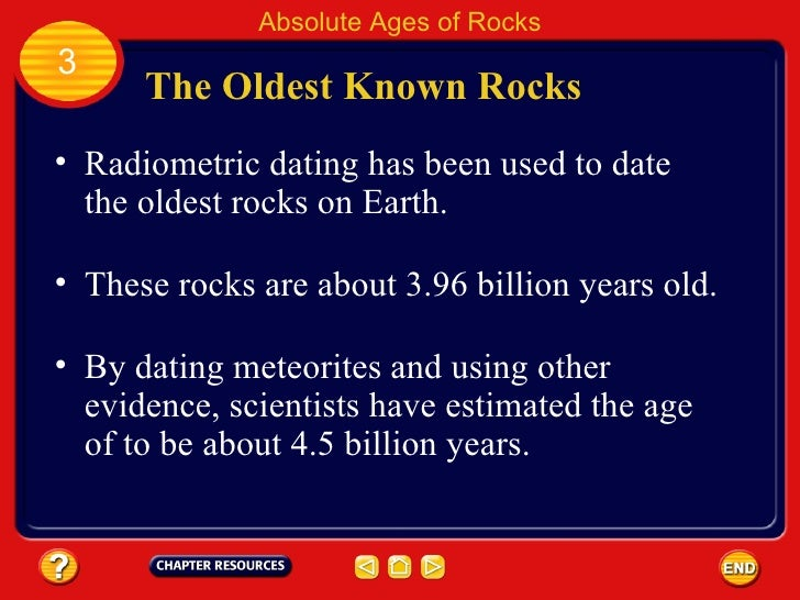 meteorite radiometric dating