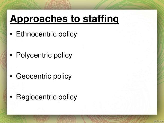 approaches of international management