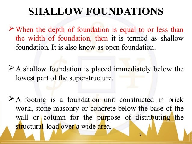 Chapter 3 shallow foundations