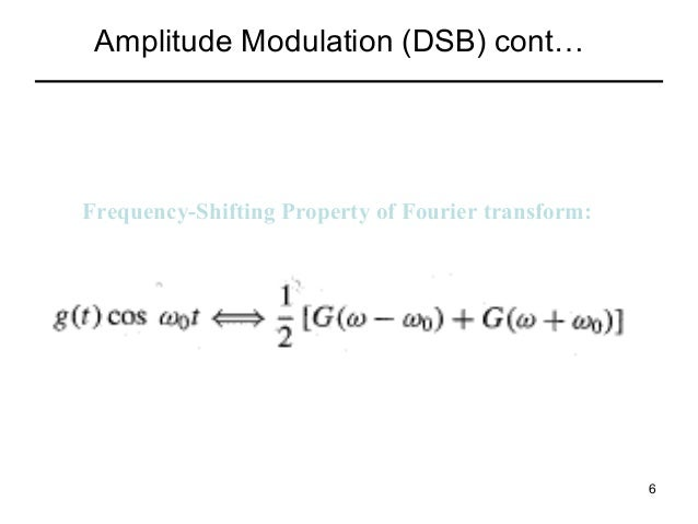 am modulation paper term All the essentials of amplitude modulation, am: definition, what it is, how it works, the equations and how and where it is used read here.