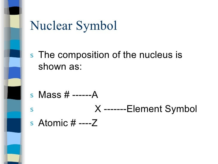 Chapter 4 and 5 nuclear symbol urtaz Choice Image