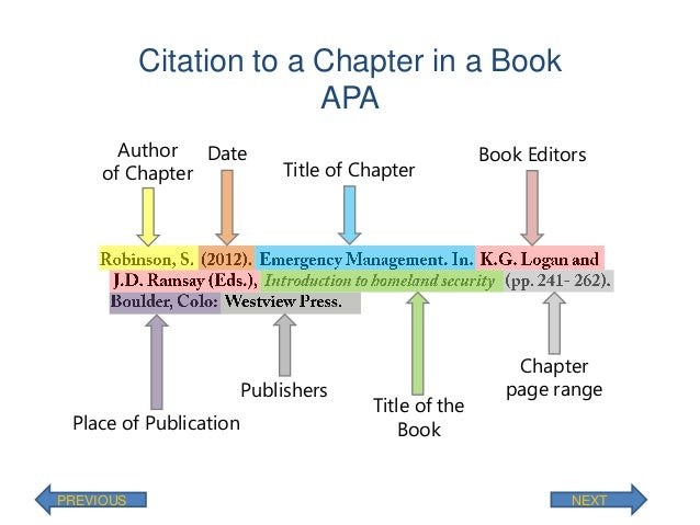 How to Cite an Anthology (APA style)