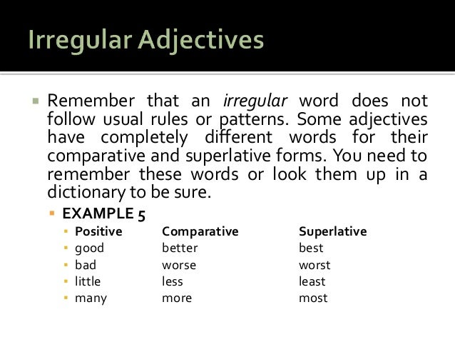 how to use an adjective in a sentence