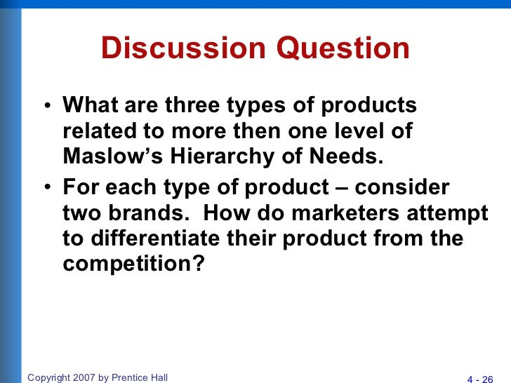 Chapter 4 consumer motivation maslows hierarchy of needs figure 410 weblink 26 fandeluxe Image collections