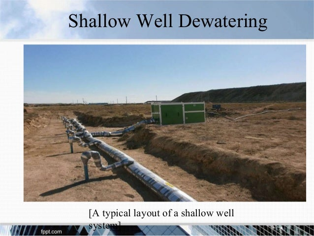 Chapter 4 control of ground water in excavations