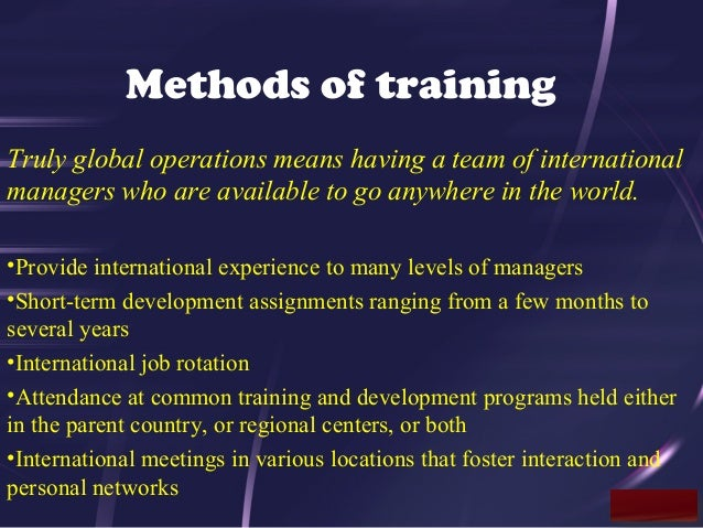 understanding culture in international hrm expartriate culture shock The effects of cross-cultural training on expatriate assignments the more the expatriate knows about the host culture understanding.