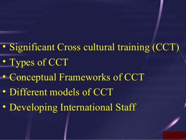 cross cultural training John knipfing, a resident of thailand for 20 years, improves cultural competence and intercultural communication through cross-cultural training.
