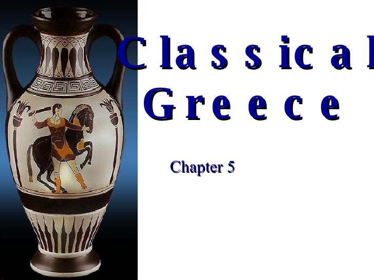 Classical Greece Chapter 5