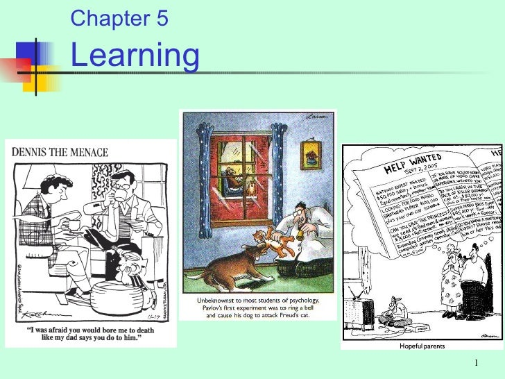 Chapter 5 Learning                 1