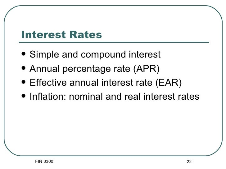 money and annual interest rate But you might be able to get a higher interest rate (annual percentage yield, or interest here are the savings accounts with the highest.