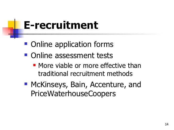 Recruitment Essay Examples