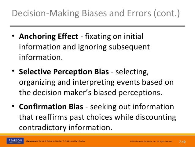 overconfidence bias anchoring biases confirmation bias availablity bias Below, i discuss the following biases: availability bias, representativeness bias, status quo bias, loss aversion, and overconfidence behavioral economics and fed policymaking in the behavioral research community, we call these the availability bias , confirmation bias and overconfidence bias.