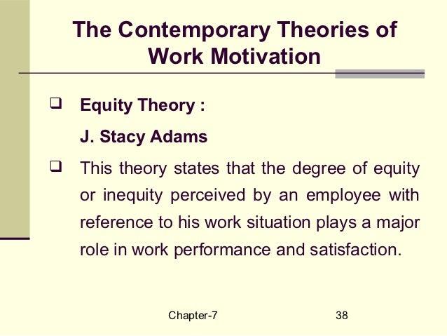 Disadvantages motivational theory