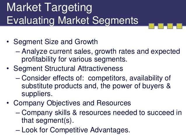 identifying market segments and targets Identifying market segments and targets hi there, need your helpl in for my class class assignment- identifying identifying market segments.