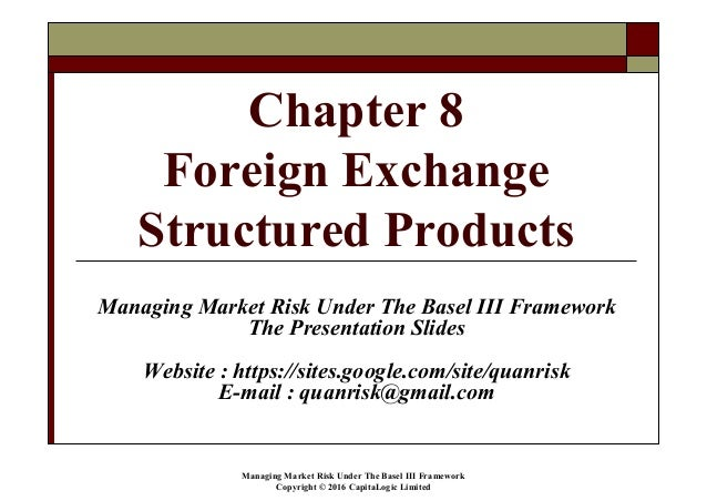 Fx options structured products