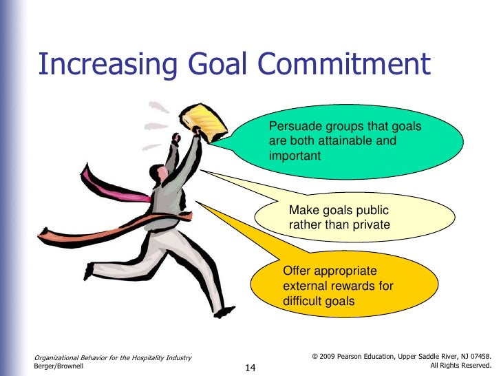 Commitment and goals