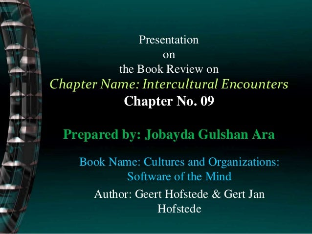 Presentation on the Book Review on Chapter Name: Intercultural Encounters Chapter No. 09 Prepared by: Jobayda Gulshan Ara ...