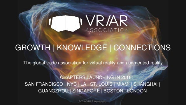 VR/AR Association - St  Louis Chapter Event - Virtual Reality and Aug…