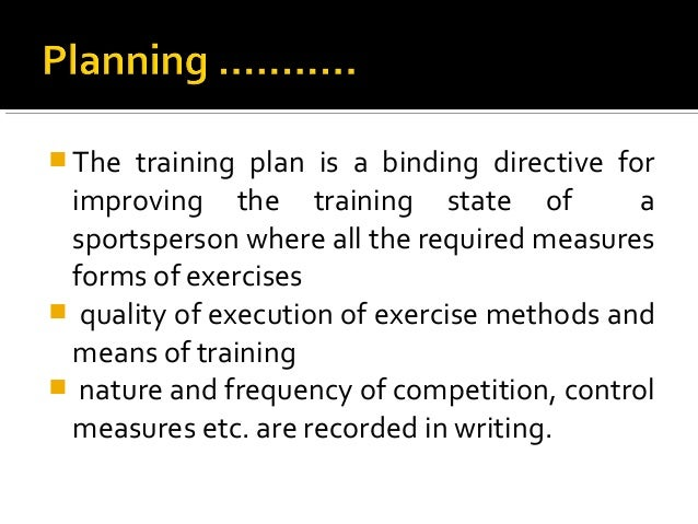 Chapter Planning of Competitions & Periodization