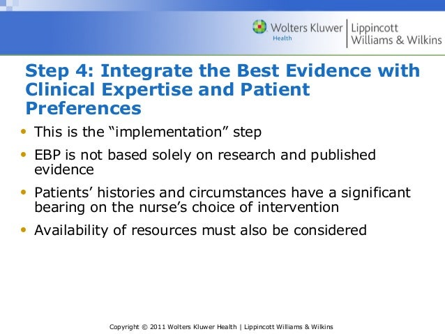 a research on the effects of motivational intervention on the results of evidence based practice ebp At the same time, they seem to be struggling to find the motivation and time to engage in evidence-based practice (ebp) the author makes the case that ebp fits well within school culture an example is provided to demonstrate how a school slp can utilize the questions to make ebp decisions regarding literacy-related interventions.