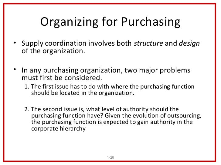 what is purchasing and supply relationship
