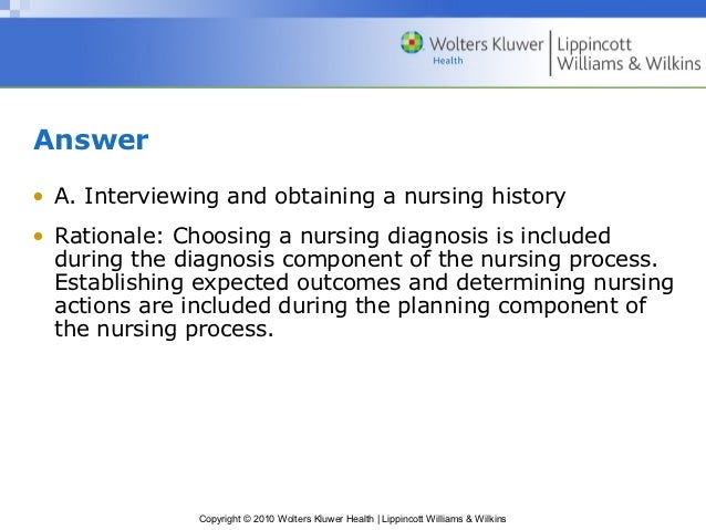 critical thinking and nursing process ppt