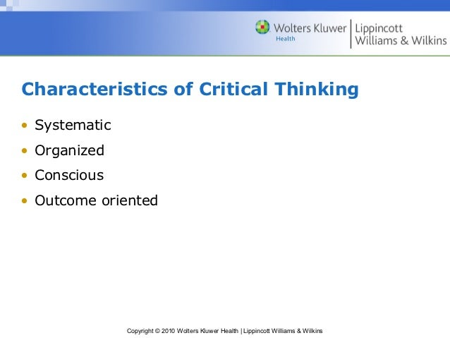 Critical thinking decision making ppt