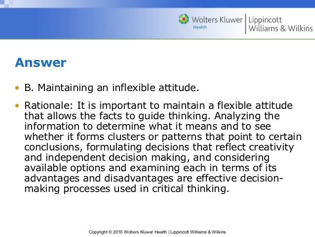critical thinking benefits decision making process But what exactly is critical thinking it is the application of decision making, deductive reasoning, critical analysis, evaluating, and problem solvingin other words, it's all the ingredients that makes for a great essay in this post, i'll break down the essential parts of critical thinking and show how critical thinking can make your.