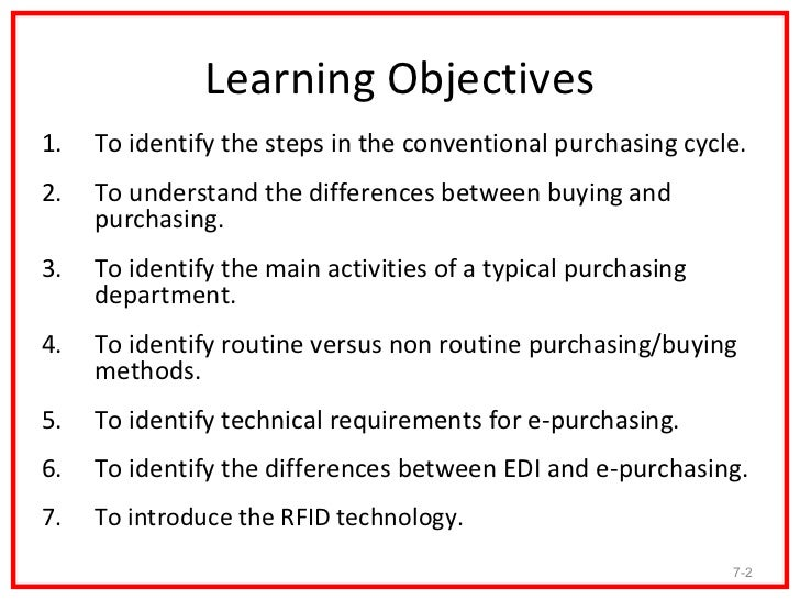 steps in the conventional purchasing cycle Bus 612 week 3 discussion 1 purchasing cycle my account of the entire purchasing cycle identify the steps in the conventional purchasing cycle and.