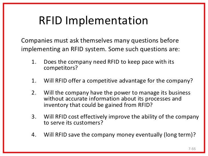 how rfid save company money