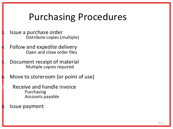 PURCHASING PROCEDURES EPROCUREMENT AND SYSTEM CONTRACTING pter 00 – Purchase Order Template Open Office