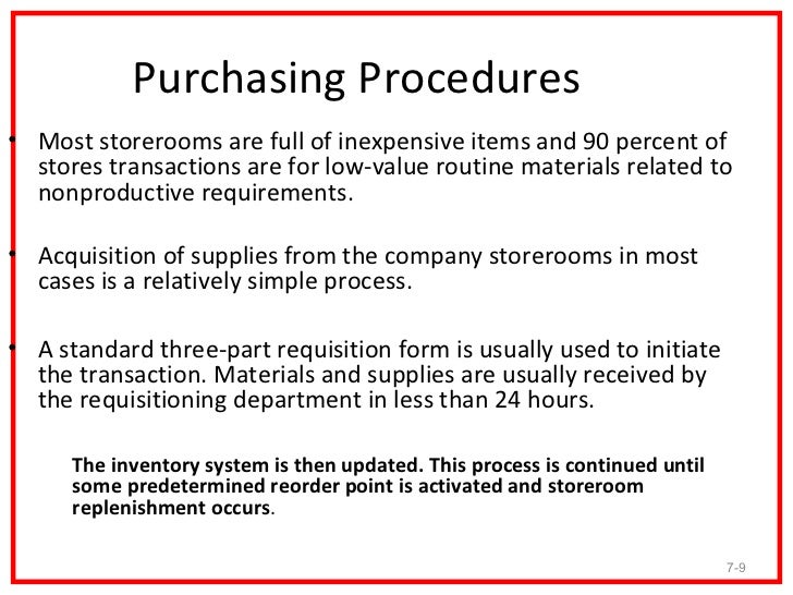 Purchasing procedures e procurement and system for Purchasing policies and procedures template