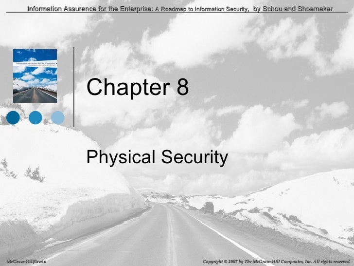 Chapter 8 Physical Security